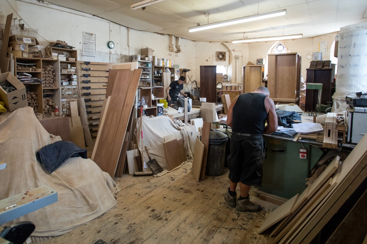 ian edwards workshop custom storage solutions
