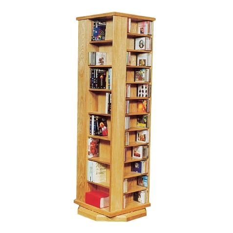 standard wizard, book shelving, DVD and CD Shelves