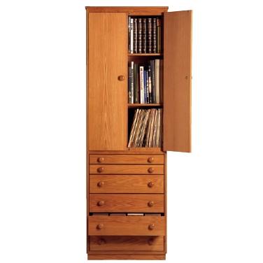 the x-nox - Storage for CD's, DVD's, Books and L.P's