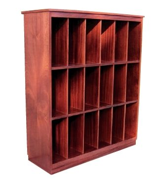 varispace LP and Book storage open fronted furniture
